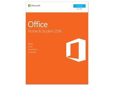 Microsoft Office Home And Student 2016 Product Key Card -...