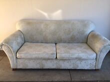Sofa Bed 3 seat + Sofa 2 seat Classic Set with a new mattress. Carlton Melbourne City Preview