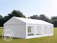 Heavy duty party tent/marquee 5m wide x 8m Long