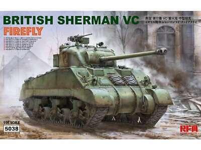 Rye Field 1/35 5038 British Sherman Firefly VC - Model Kit