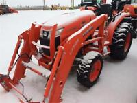 Kubota L3301HSTRC Tractor and LA525 Front Loader Brandon Brandon Area Preview