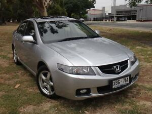 2004 Honda Accord Euro Luxury Silver 5 Speed Sequential Auto Sedan Albert Park Charles Sturt Area Preview