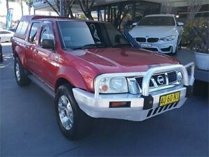 2002 Nissan Navara D22 ST-R Red Manual Utility Lansvale Liverpool Area Preview