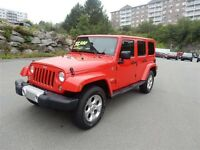 2015 JEEP WRANGLER SAHARA UNLIMITED 4x4 Convertible