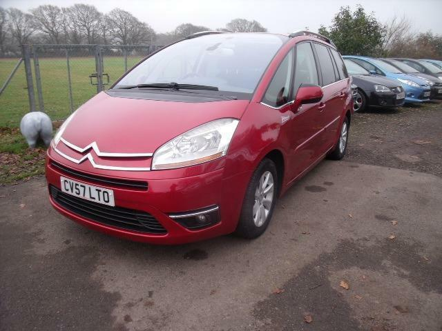 citroen c4 picasso grand exclusive hdi egs 7 seats red auto diesel 2007 in henfield west. Black Bedroom Furniture Sets. Home Design Ideas