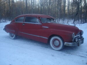 1947 Buick fastback coupe for trade