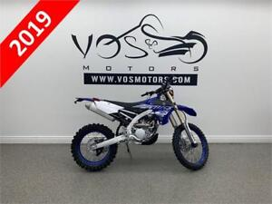 2019 Yamaha WR250F - V3373 - Free Delivery in GTA**