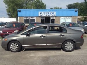 2007 Honda Civic Sdn DX-G Fully Certified! No accidents!