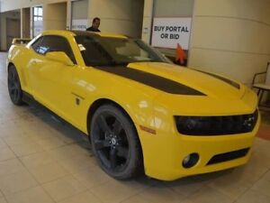 2012 Chevrolet Camaro LT2 Transformers Package - Manual - Leathe