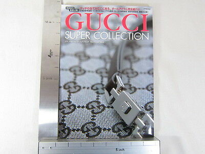 GUCCI Super Collection 2002 Art Catalog Pictorial Book Japan Japanese