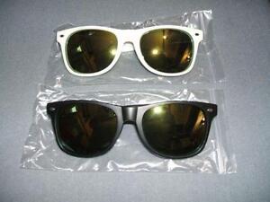 RyEng Black OR White Sunglasses UV400 Ultraviolet Protection