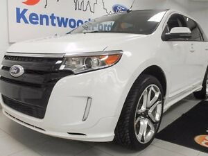 2012 Ford Edge Sport AWD with NAV and a full sun roof!