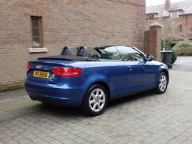 09 Audi A3 TDI Convertible ONLY 47k miles £7500