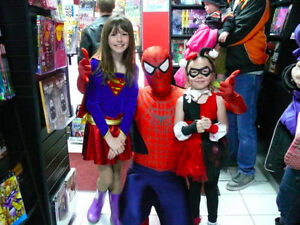 K-W Spider-Man superhero birthday party appearance Cambridge Kitchener Area image 3