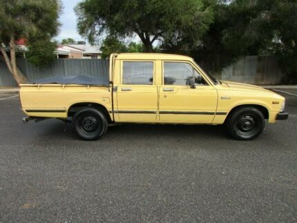1984 Toyota Hilux YN57 5 Speed Manual Dual Cab Pick-up