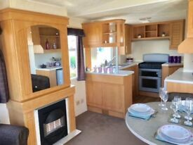 REDUCED STATIC CARAVAN BY THE COAST AND NORFOLK BROADS 2018 FEES INCLUDED NOT SUSSEX OR SKEGNESS