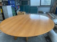 8ft round office table