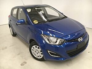 2014 Hyundai i20 PB MY14 Active Blue 4 Speed Automatic Hatchback Edgewater Joondalup Area Preview