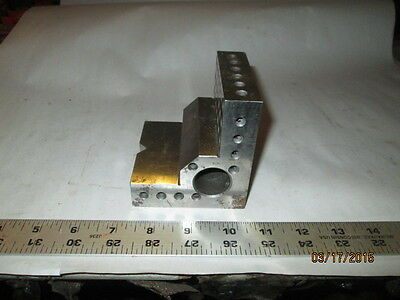 Machinist Mill Lathe Toolmakers Set Up Angle Plate Fixture Hardened Ground