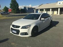 2014 Holden Commodore VF SS-V Redline White 6 Speed Manual Sedan Beckenham Gosnells Area Preview