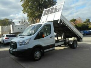 2014 Ford Transit VO Tipper White 6 Speed Manual Cab Chassis Preston Darebin Area Preview