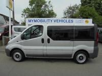 Vauxhall Vivaro AUTOMATIC 5 Seat Wheelchair Scooter Accessible MPV WAV
