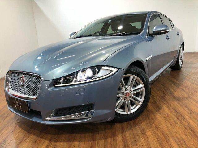 2013 Jaguar XF X250 MY14 Luxury Grey 8 Speed Sports ...