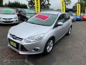 2014 Ford Focus LW MK2 Upgrade Trend Silver 6 Speed Automatic Hatchback Cabramatta Fairfield Area Preview