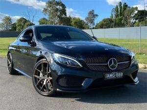 2016 Mercedes-Benz C43 C205 AMG 9G-Tronic 4MATIC Obsidian Black 9 Speed Sports Automatic Coupe