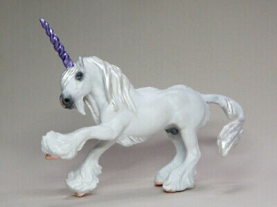 Custom CM Breyer Stablemate Vanner to Unicorn x L. Elkjer**WOW**