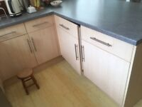 Kitchen units - good condition and appliances in working order