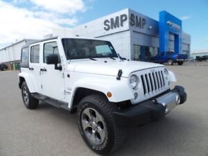 2017 Jeep Wrangler Unlimited Sahara - Heated Seats, Rem. Start,