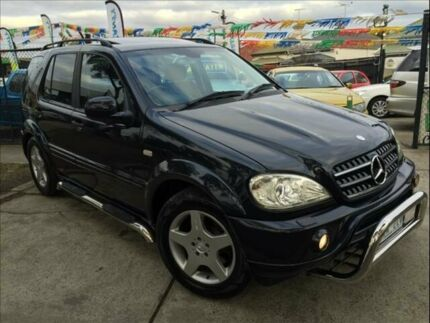 2002 Mercedes-Benz ML W163 55 AMG (4x4) 5 Speed Auto Tipshift Wagon Footscray Maribyrnong Area Preview