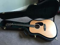 Martin DRS2 Electro Acoustic Guitar and Case