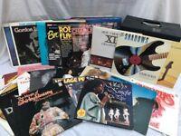 40 x assorted vinyl LP records.