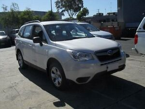 2013 Subaru Forester MY13 2.5I White Continuous Variable Wagon Moorabbin Kingston Area Preview