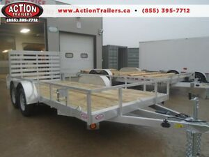 "82""x16' All Aluminum Utility - Priced To Sell - DON'T MISS THIS!"