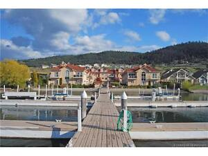 Fully renovated 2 bedroom waterfront townhouse on Okanagan Lake