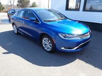 2015 Chrysler 200 C LOADED! LOADED! LOADED! Only $189 bi-weekly!