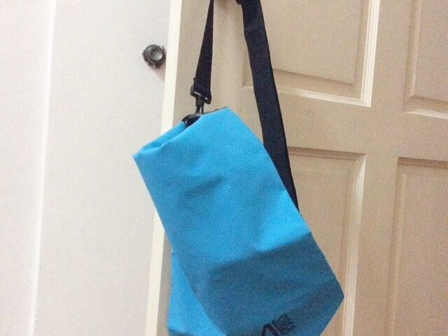 Waterproof Sky Blue Sports Bucket Bag
