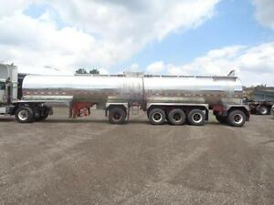 1987 HUTCHINSON 5 AXLE STAINLESS STEEL TANKER Kitchener / Waterloo Kitchener Area image 2