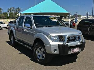 2007 Nissan Navara ST-X D40 Silver Manual Utility Wacol Brisbane South West Preview