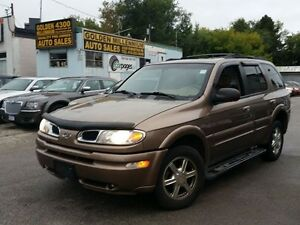 2002 Oldsmobile Bravada LEATHER SEATS