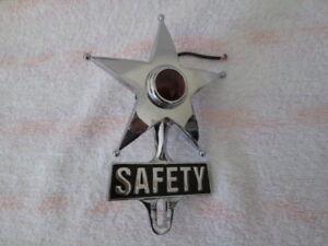Lighted Star License Topper