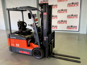 TOYOTA 3 WHEEL 7FBE18 62640 3 WHEEL COUNTER BALANCED FORKLIFT  Coopers Plains Brisbane South West Preview