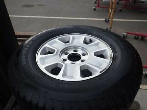 F150  RIMS WITH LIKE NEW STUDDED WINTER TIRES