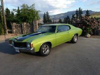 1972 CHEVELLE IN SHOW CONDITION