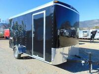 2016 Mirage Cargo Trailer 7X14 w. Extra Height and Rear Barn Doo
