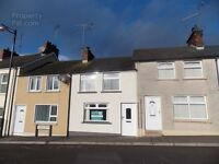 2 Bed terrace house in Sixmilecross. UPVC windows, OFCH, open fire with back boiler