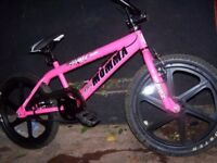Big momma pink BMX bike 20 inch mag wheels brand new current model